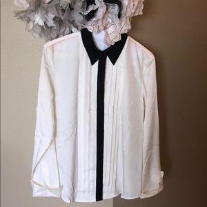Ralph Lauren tuxedo shirt for women